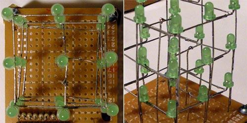 Готовый LED куб